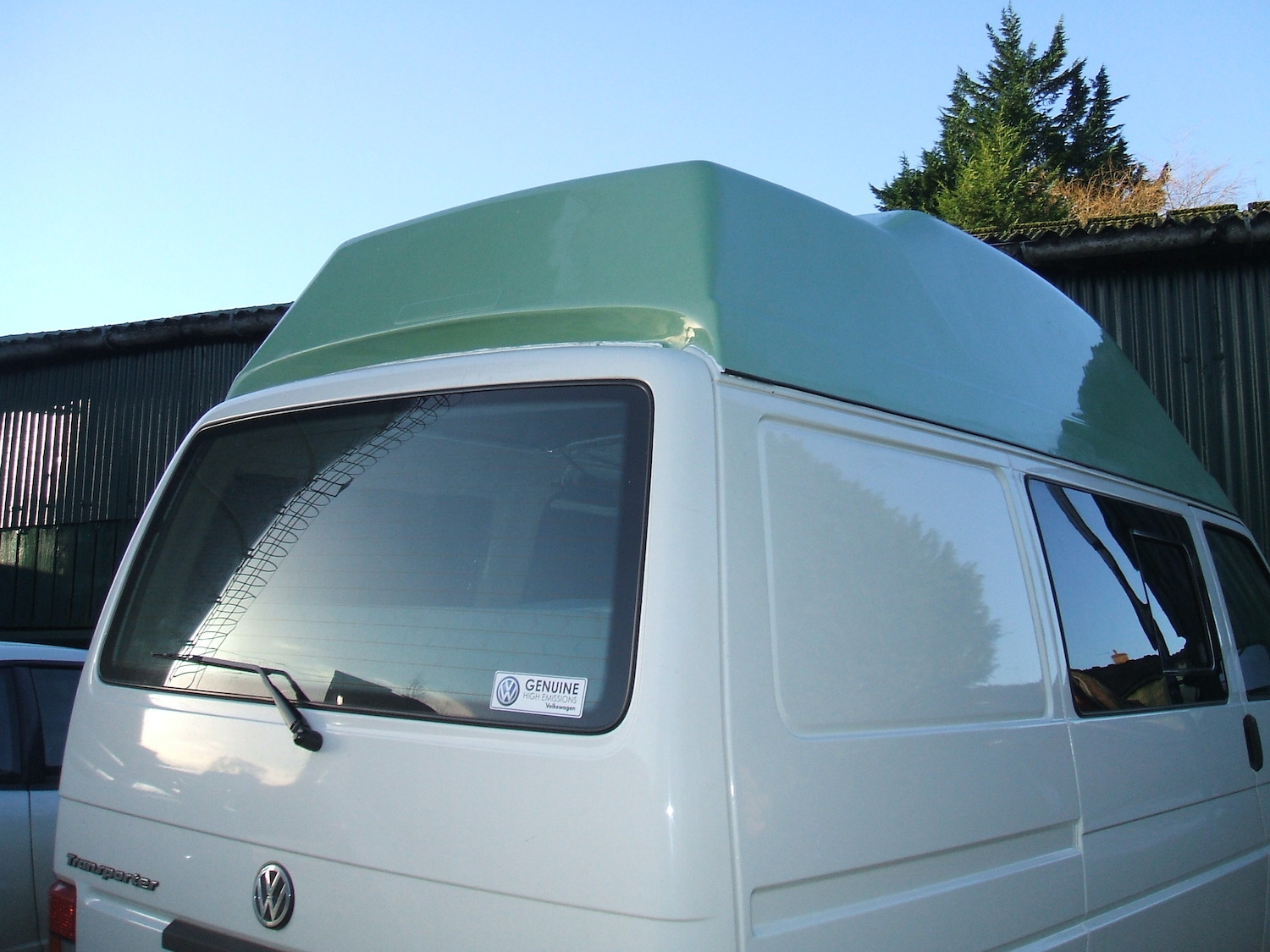 c271c3632a0b50 Fibreglass (Grp) VW T4 High Top Roofs In Cornwall