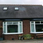 Fibreglass Slate Tile Bay Windows
