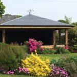 Garden Den With Grp Slate Tile Roof