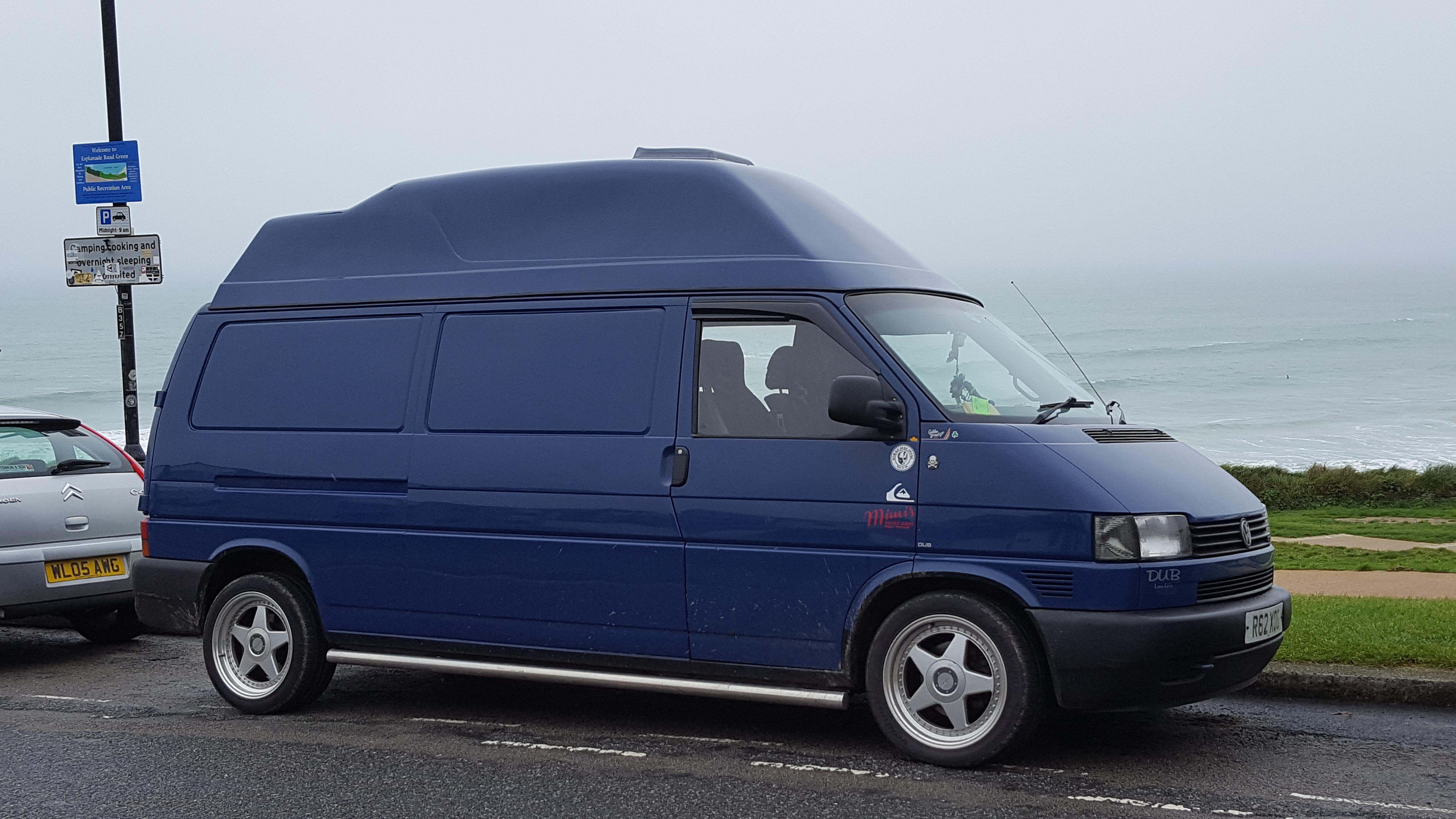 Fibreglass Grp High Top Roofs For Vw T4 Vans Shapes Grp