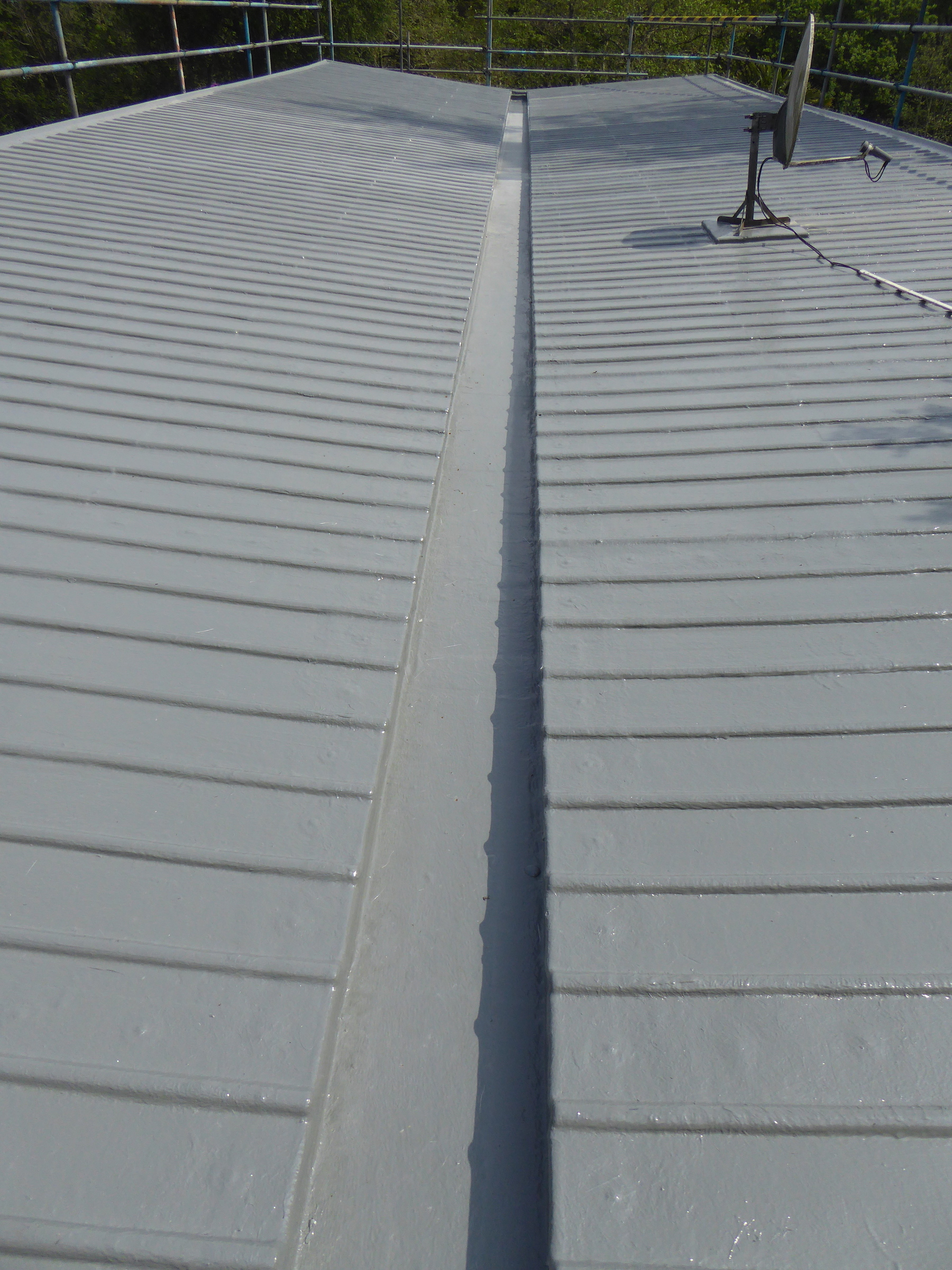Readymade Fibreglass Grp Ribbed Roofing Sheets Shapes Grp