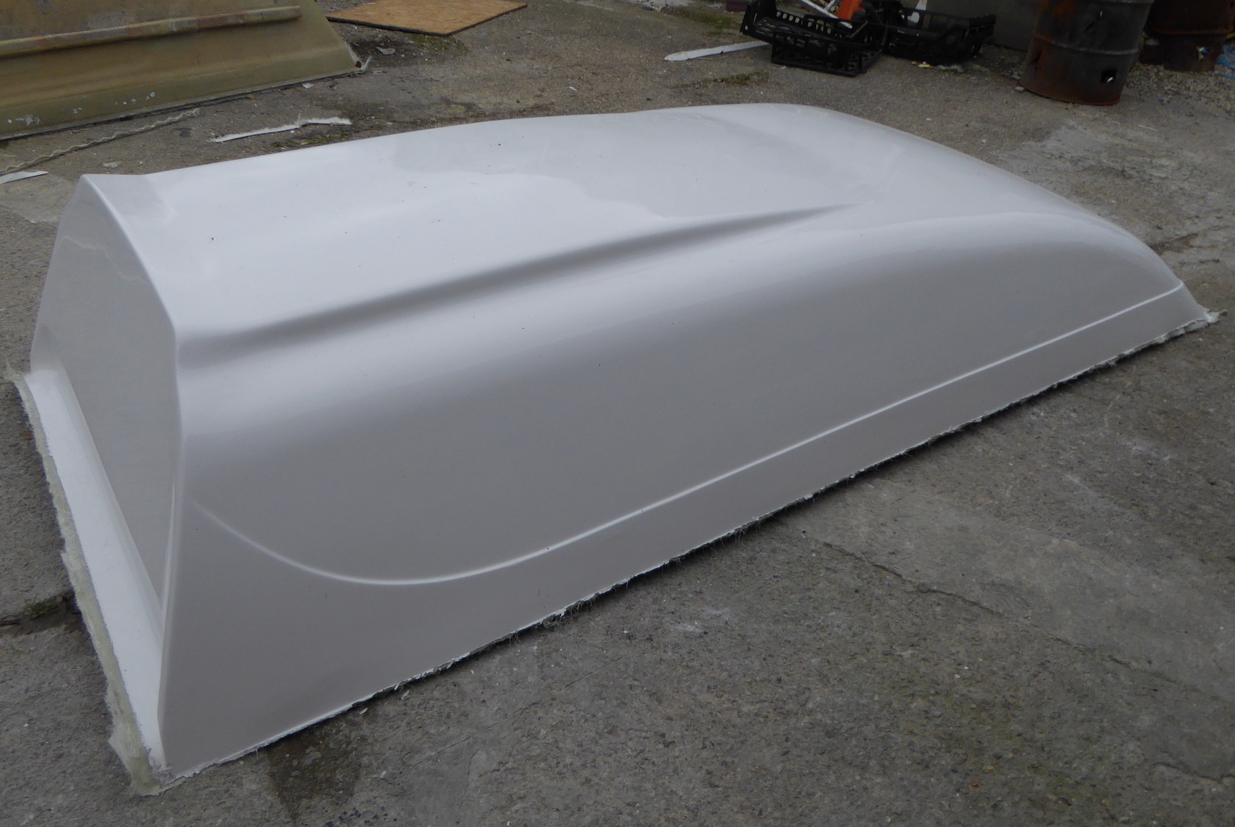 Vw T4 High Top Roofs Made In Fibreglass Grp Shapes Grp
