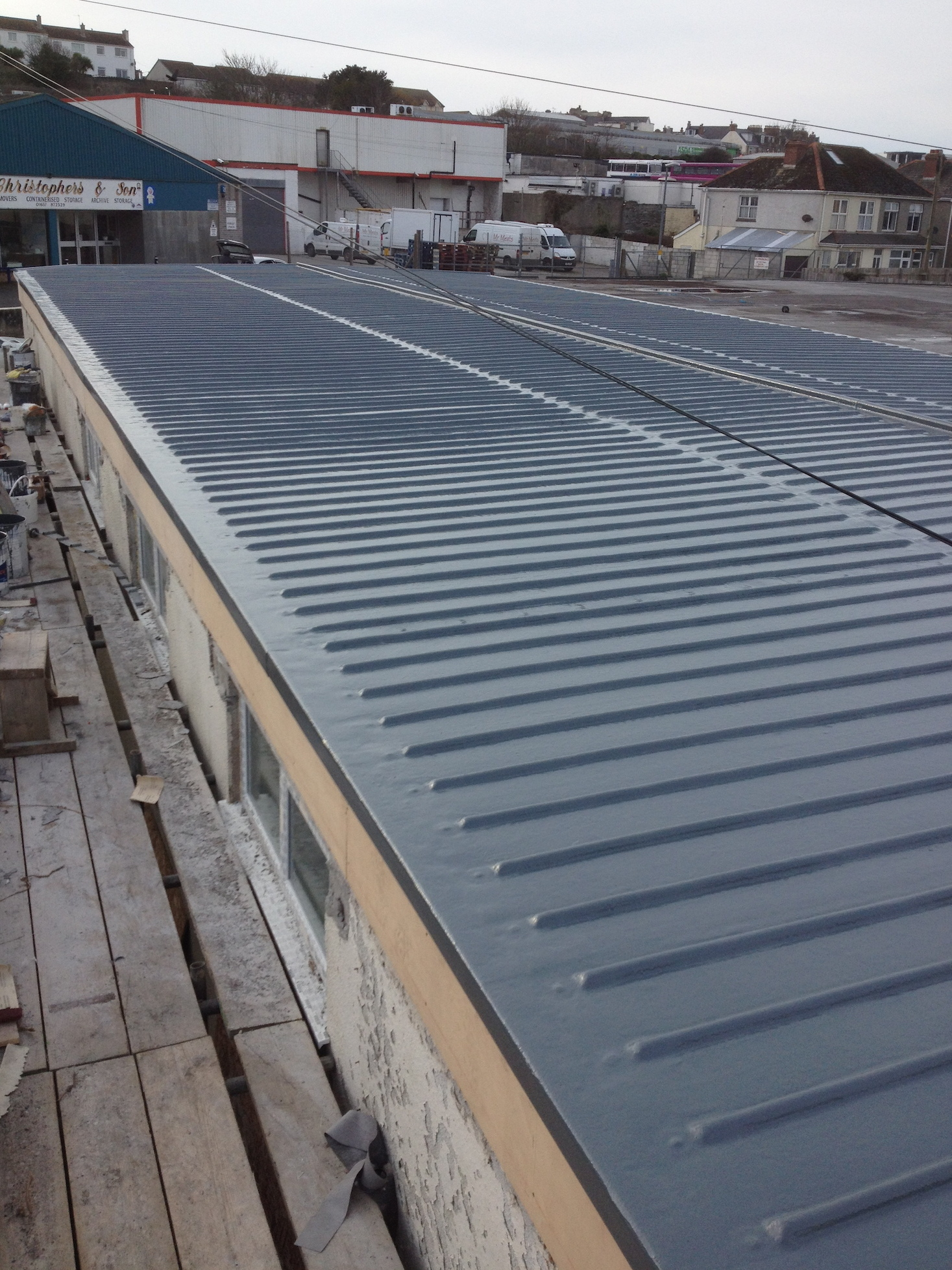 Fibreglass Ribbed Roofing Sheets In Truro Cornwall