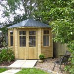 Summerhouse With Slate Tile Roof