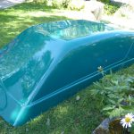 Swb T4 V Dub Roof In Teal