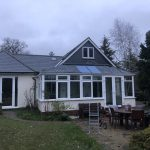 Conservatory With Solid Grp Slate Tile Roof