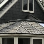 Conservatory With Fibreglass Slate Tile Roof