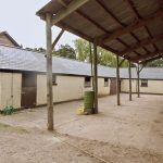 fibreglass roofing panels on stables
