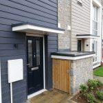 Lean To Style Door & Storage Cupboard Canopies